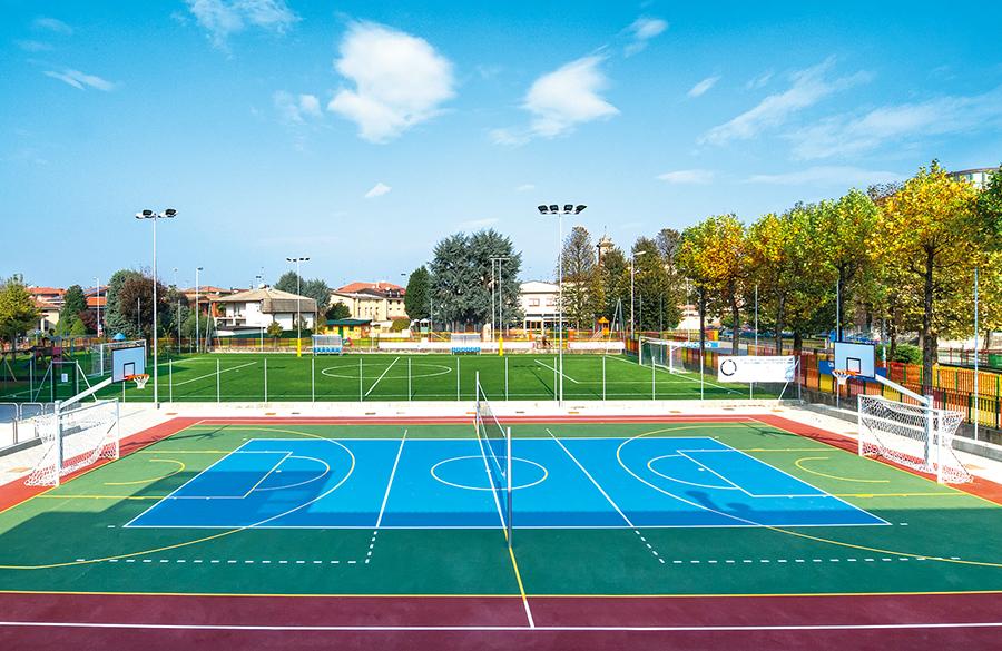 realizzazione campi multisport