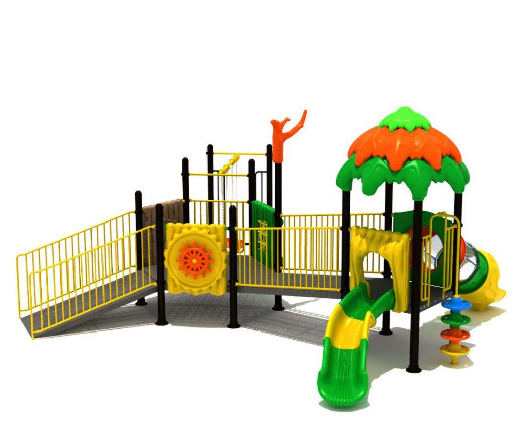 giochi parco pubblico per bambini disabili