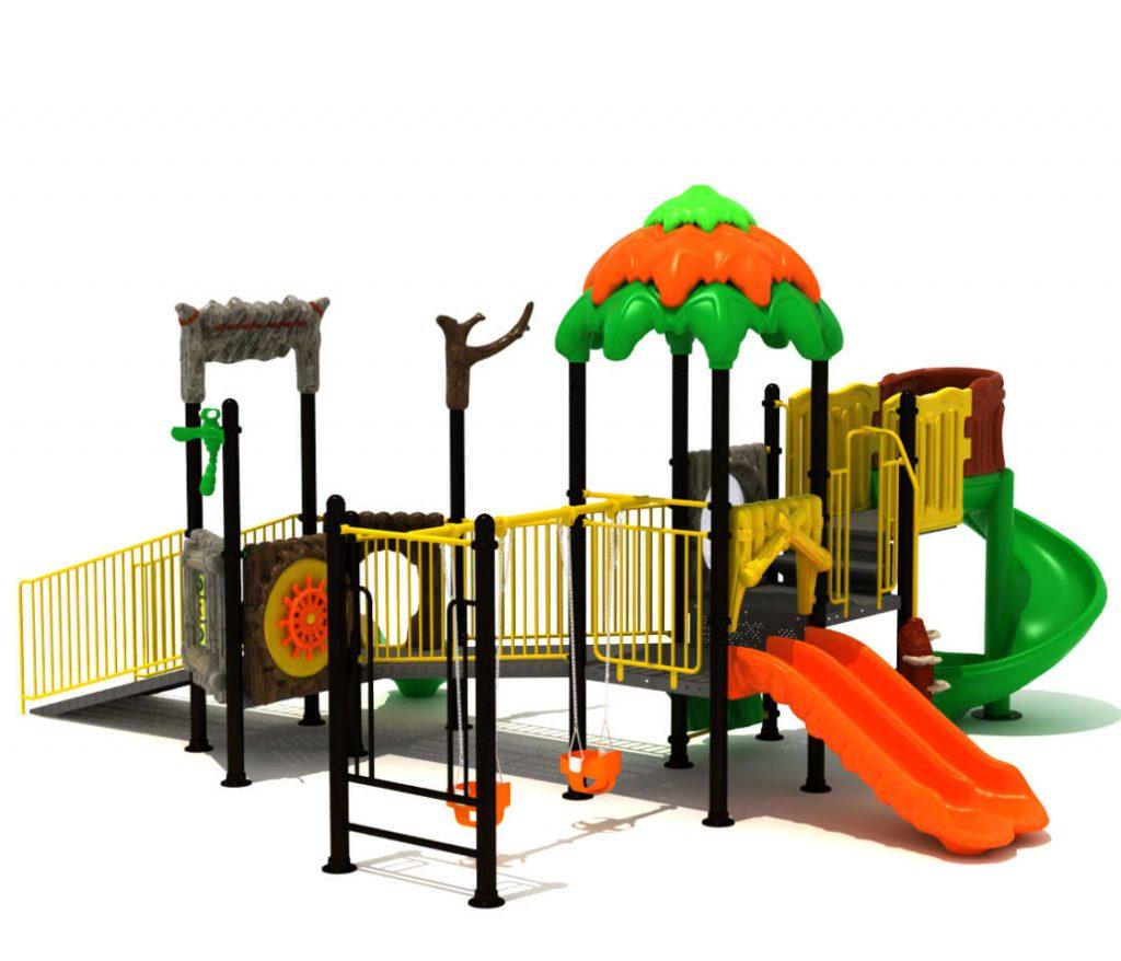 Parco Giochi Inclusivi per Bambini e Disabili - INCLUSIVE Castello 15069B