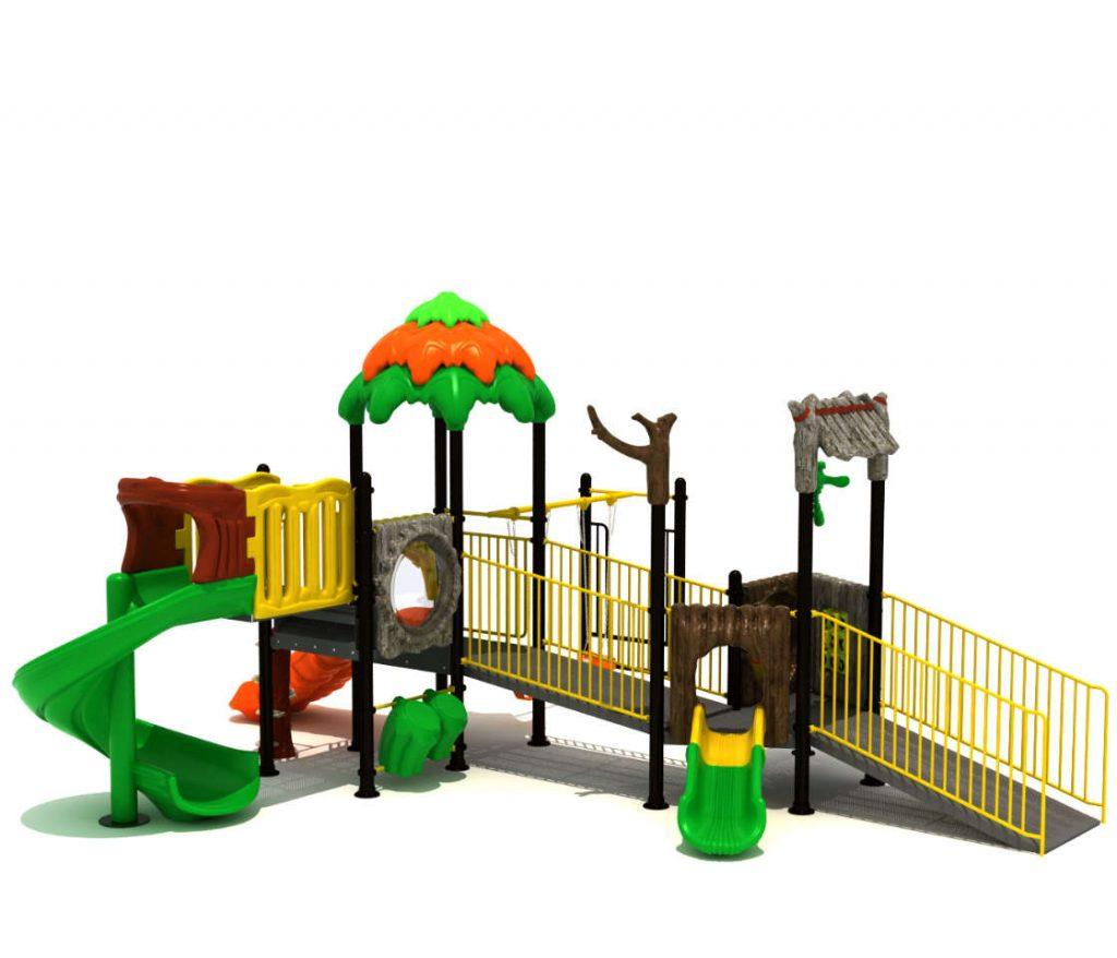 giochi parco pubblico per bimbi disabili