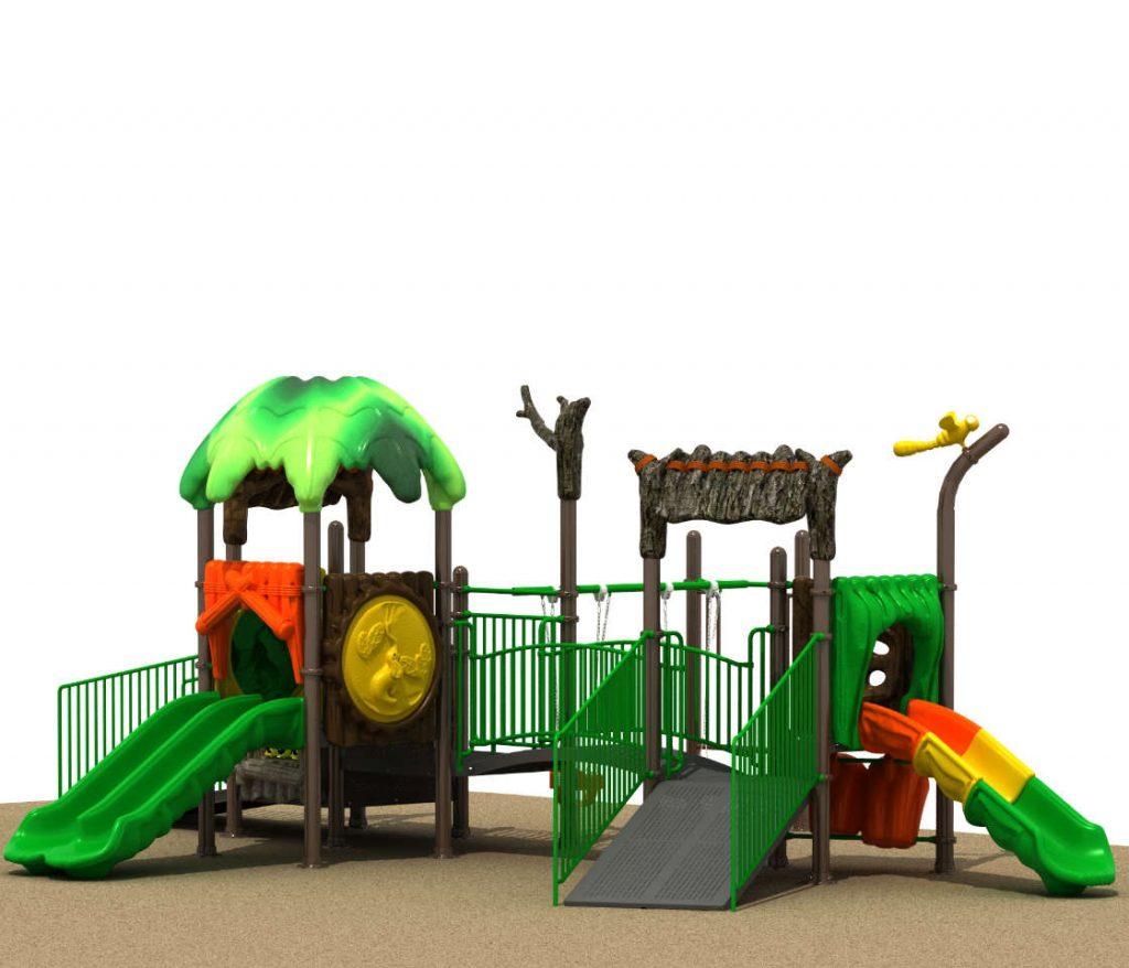 Parco Giochi Inclusivi per Bambini e Disabili - INCLUSIVE Castello 15070B