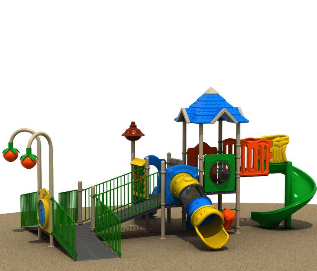 Parco Giochi Inclusivi per Bambini e Disabili - INCLUSIVE Castello 15071A