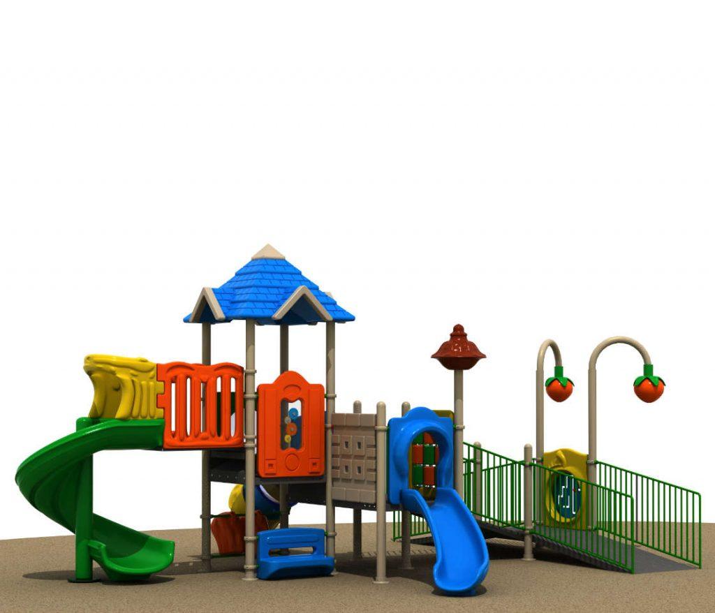 parco giochi con rampe per disabili