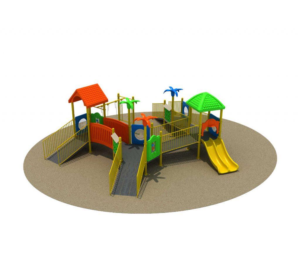 Parco Giochi Inclusivi per Bambini e Disabili - INCLUSIVE Castello 15071B
