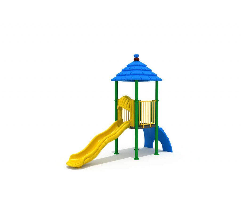 Altalene e Scivoli per Bambini - CITY Torre con scivolo 160903-01-32-1