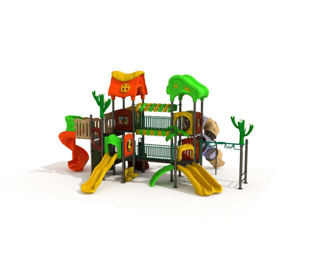 Struttura Gioco per Bambini a tema Natura - NATURE Castello 171216D-29