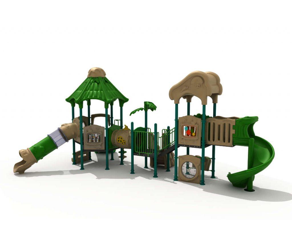 Struttura Gioco per Bambini a tema Natura - NATURE Castello 171216E-29