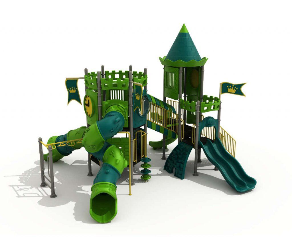 castello per giardino bambini
