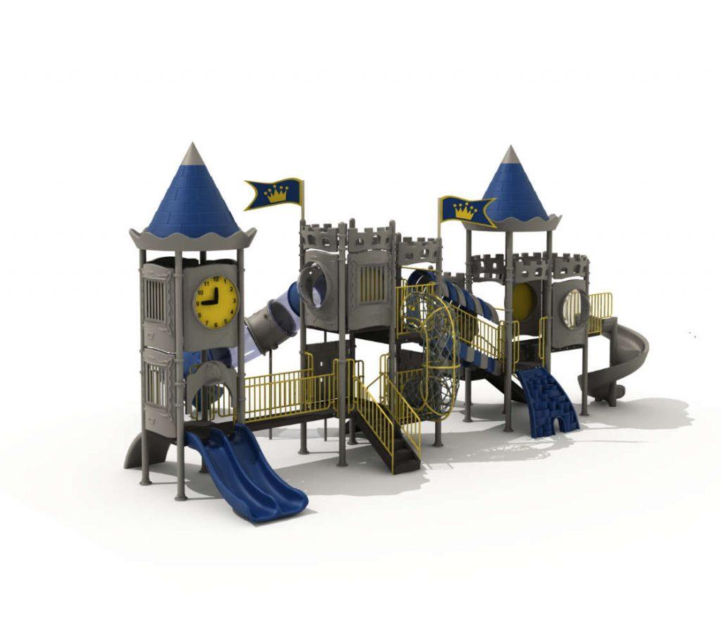 castello scivolo per bambini