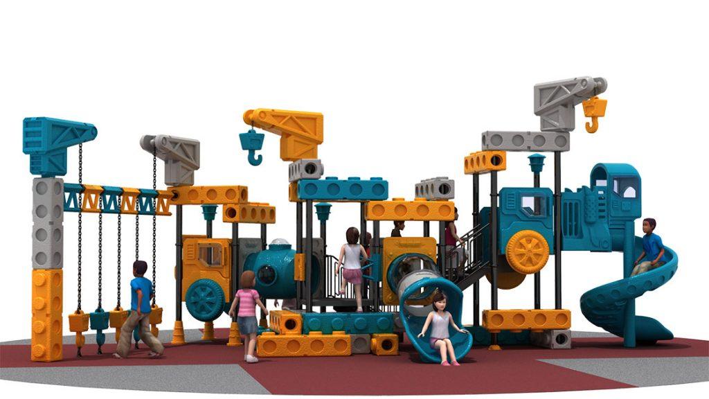 Giochi per Parchi a tema Costruzioni - CRANE TRUCK Castello 6005A