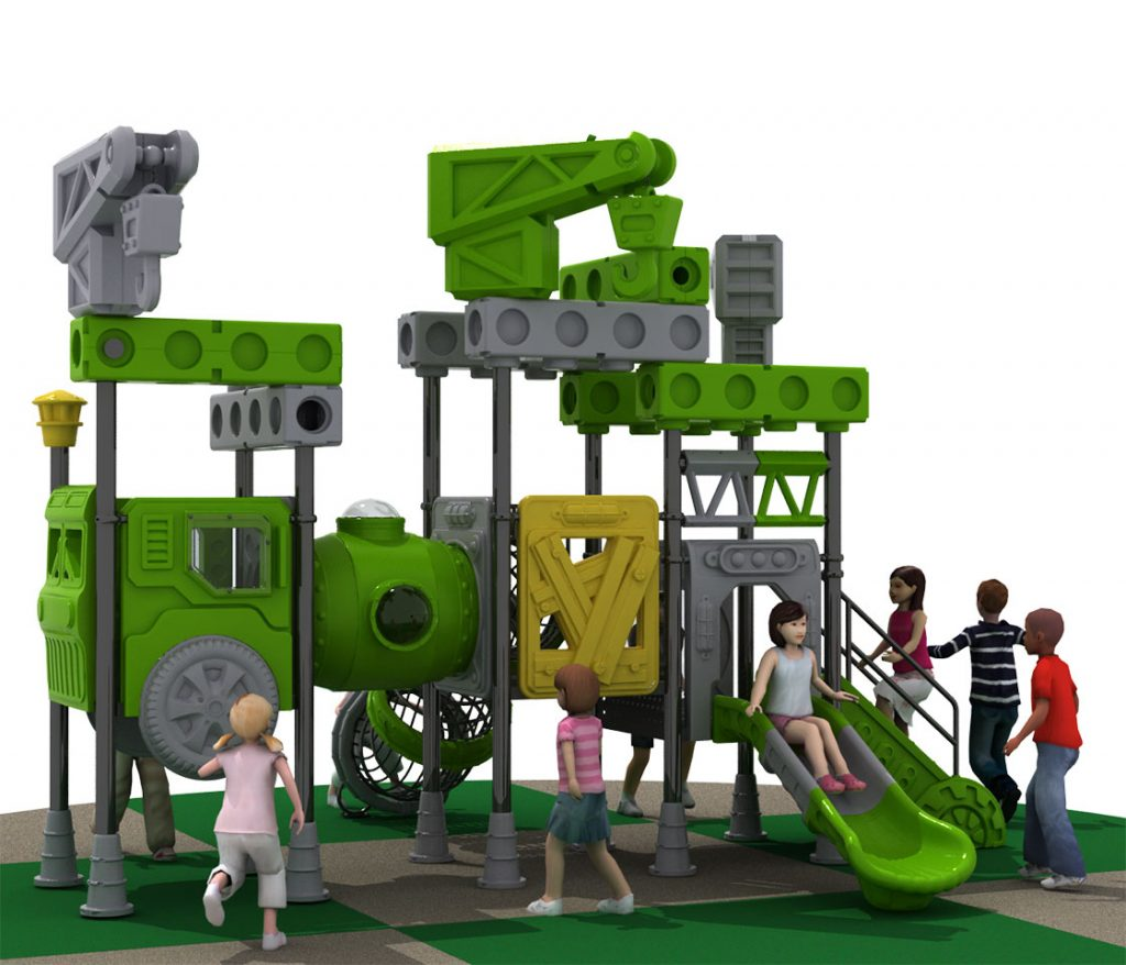 Giochi per Parchi a tema Costruzioni - CRANE TRUCK Castello 6007A