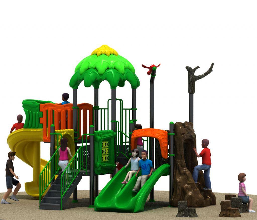 FORESTA Castello 6031A - Giochi per Parchi a tema Avventura