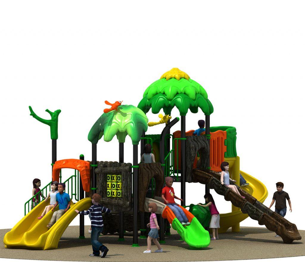 FORESTA Castello 6032A - Giochi per Parchi a tema Avventura