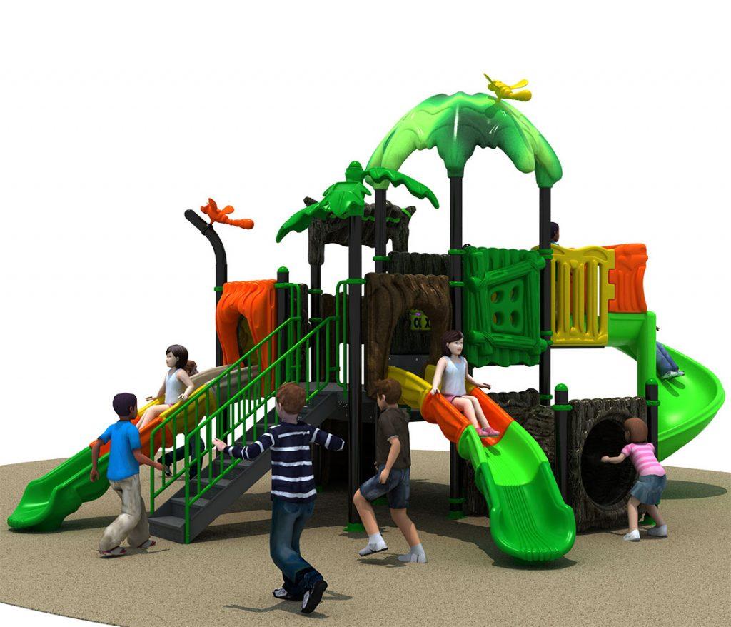 FORESTA Castello 6033B - Giochi per Parchi a tema Avventura
