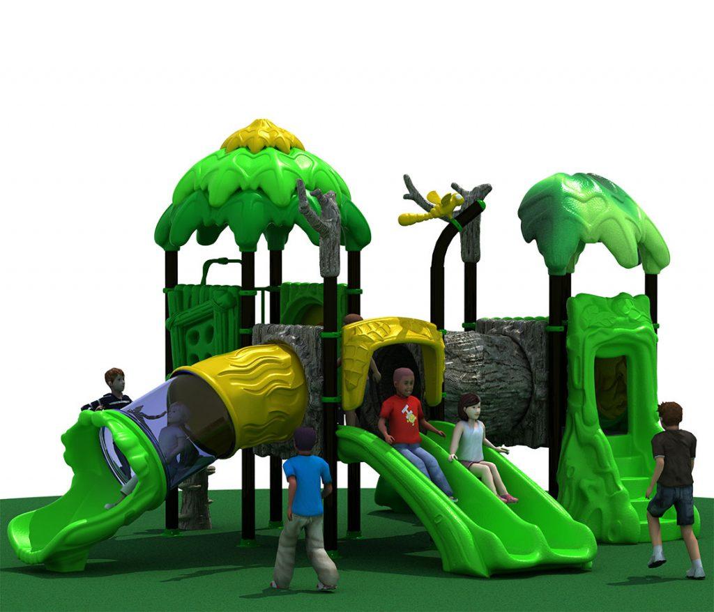 FORESTA Castello 6036A - Giochi per Parchi a tema Avventura