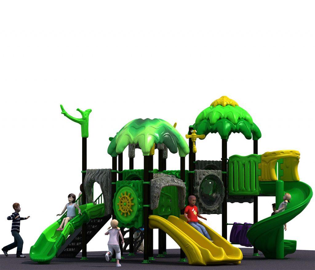 FORESTA Castello 6036B - Giochi per Parchi a tema Avventura