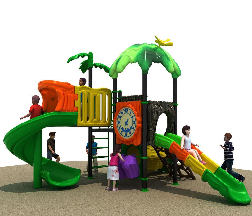 FORESTA Castello 6038A - Giochi per Parchi a tema Avventura