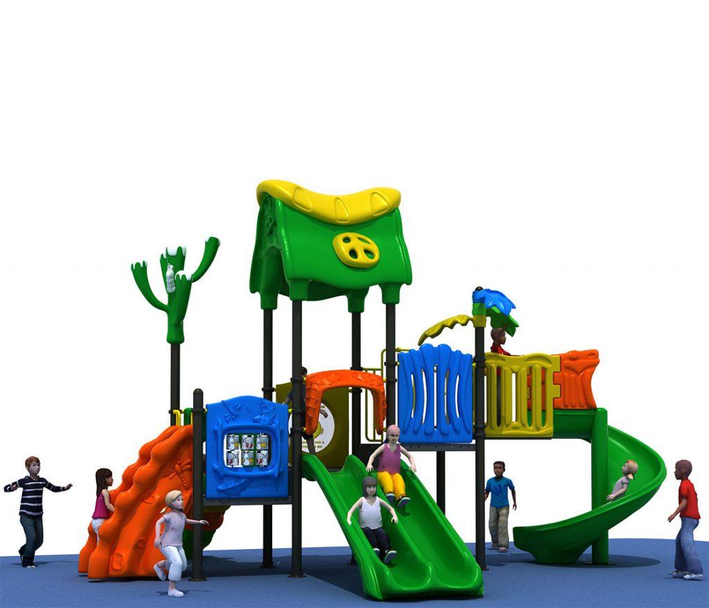 Struttura Gioco per Bambini a tema Natura - NATURE Castello 6042A