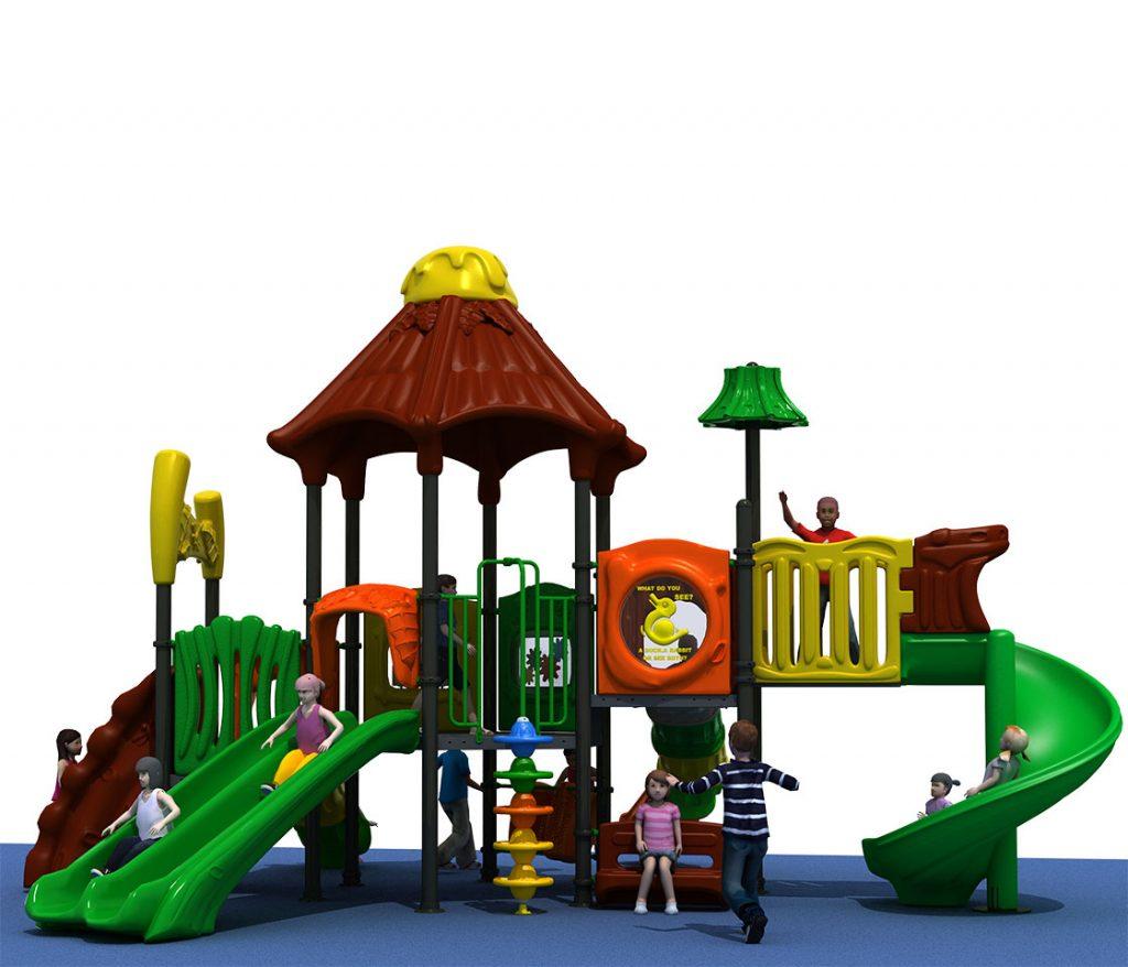 Struttura Gioco per Bambini a tema Natura - NATURE Castello 6044B