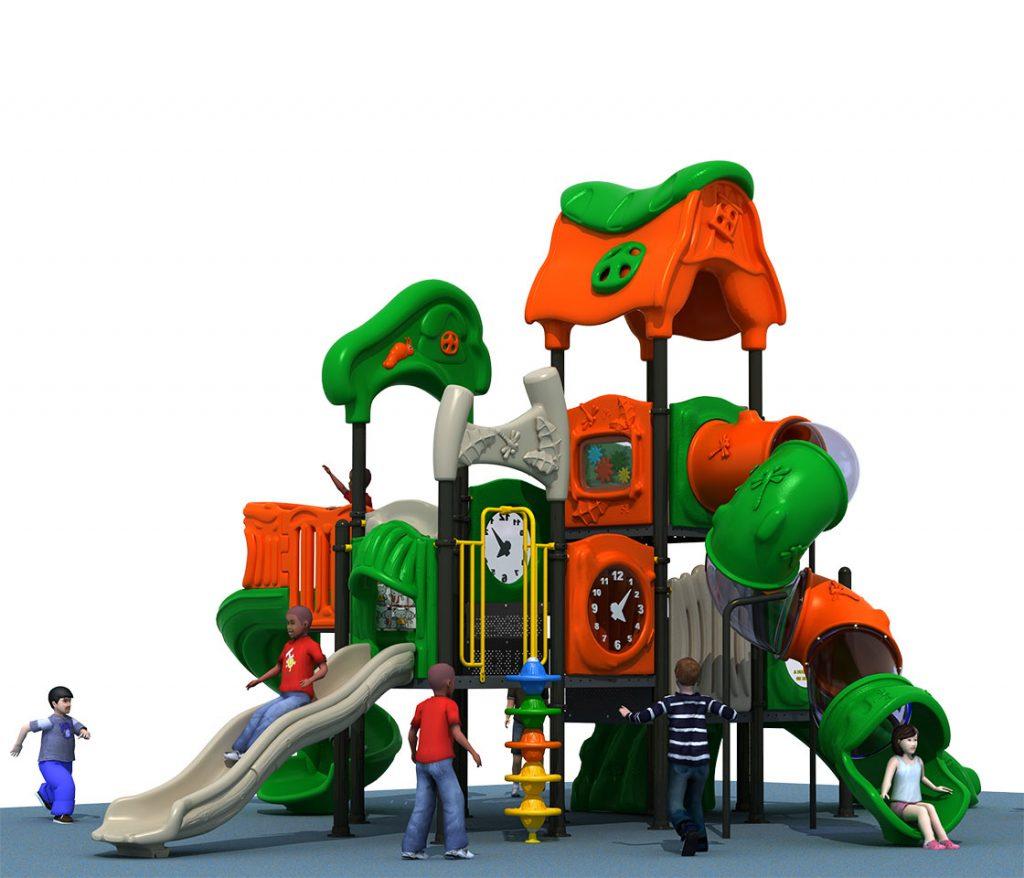 Struttura Gioco per Bambini a tema Natura - NATURE Castello 6046A