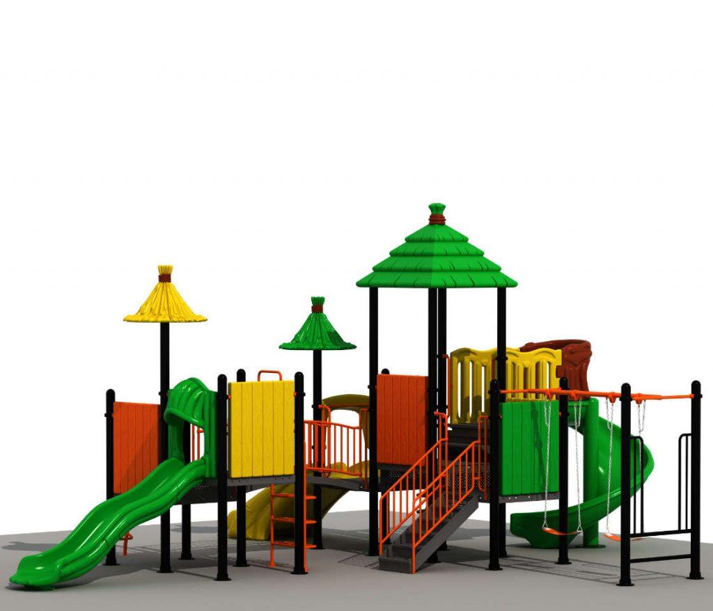 Altalene e Scivoli per Bambini - CITY Castello 6076B-1