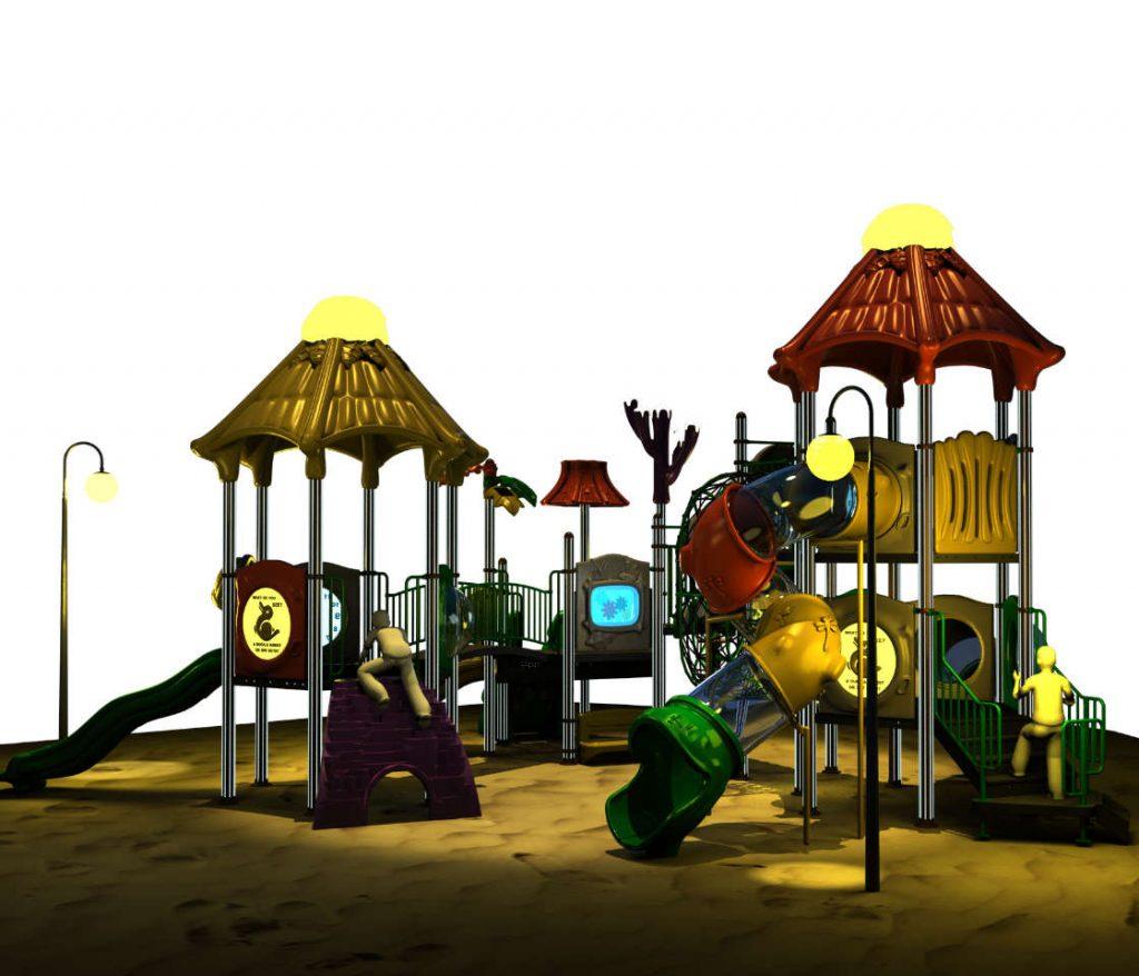 MISTERY Castello 6095A - Giochi per Parchi a tema Mistero