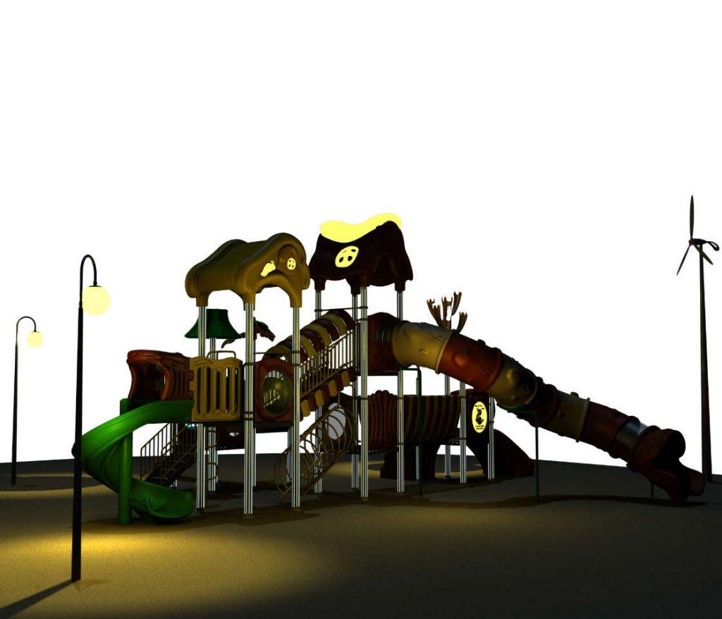 MISTERY Castello 6096A - Giochi per Parchi a tema Mistero
