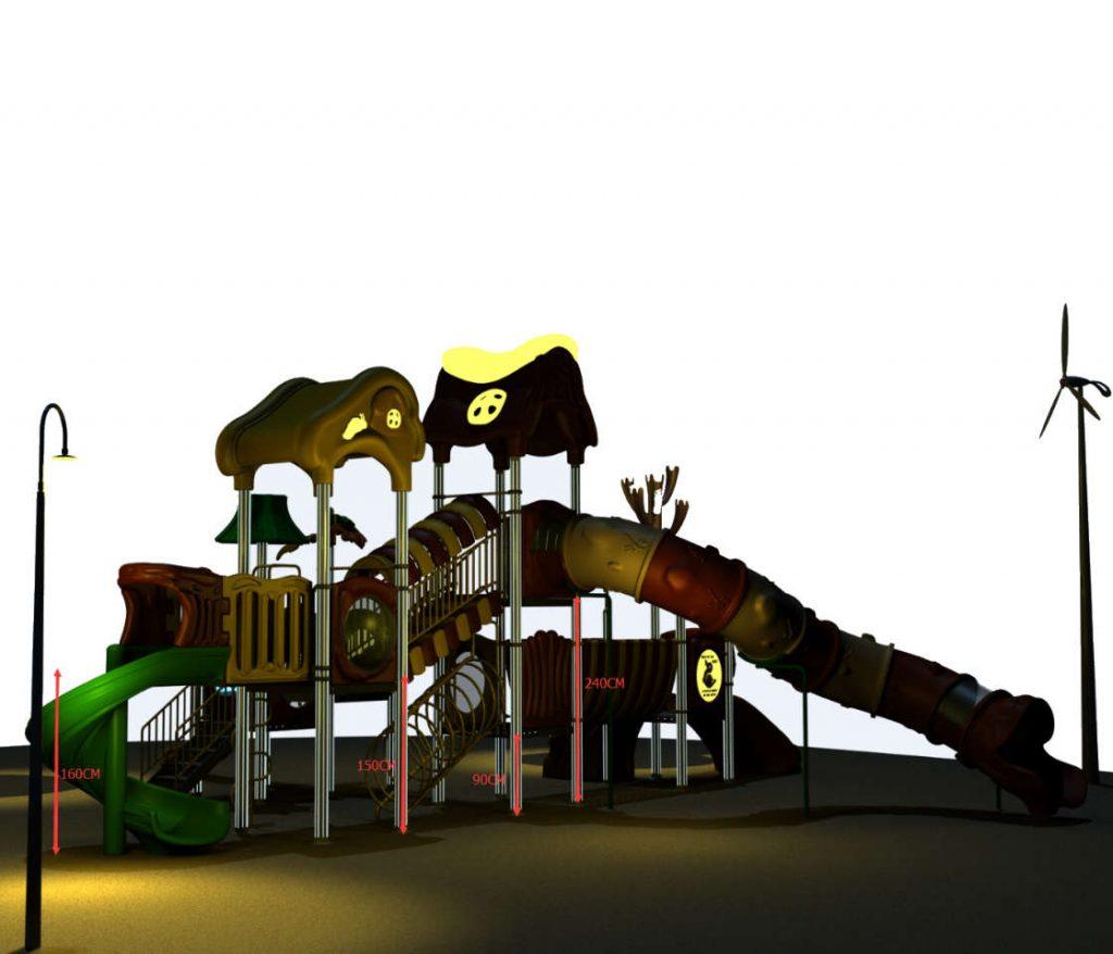 giochi per parchi pubblici