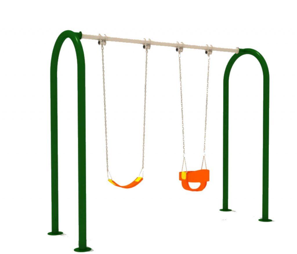 altalena per giochi per parchi per bambini