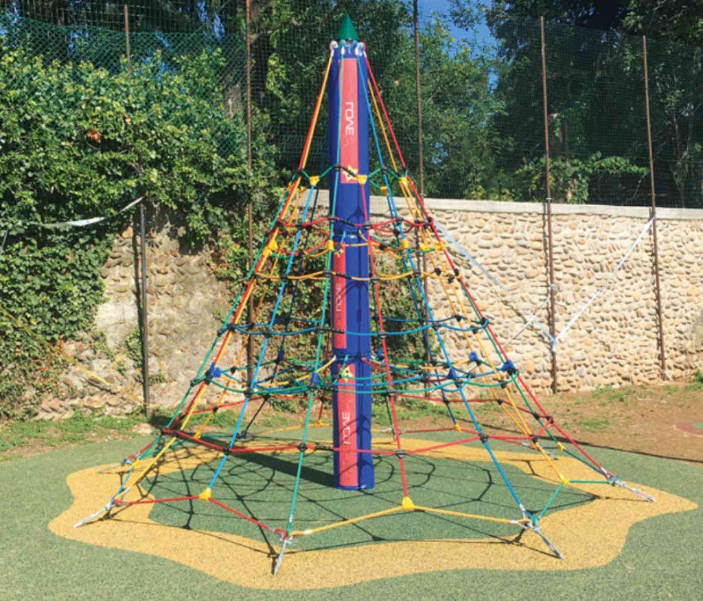 PALESTRINA Piramide - Giochi Arrampicata per Parchi