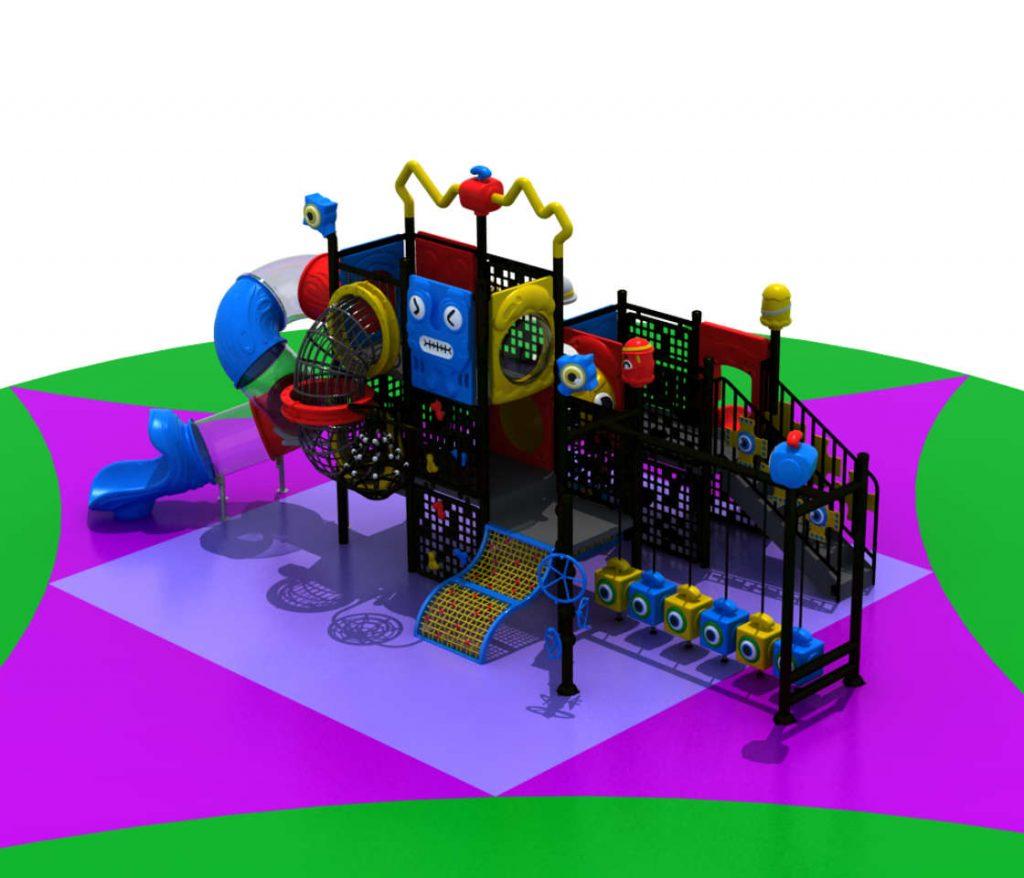 ROBOT Castello 7007A - Giochi per Parchi a tema Robot