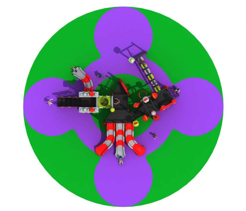 ROBOT Castello 7009A - Giochi per Parchi a tema Robot