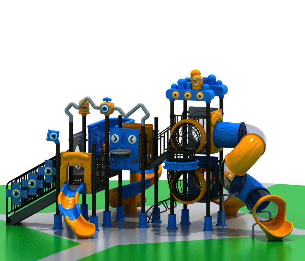 ROBOT Castello 7011A - Giochi per Parchi a tema Robot