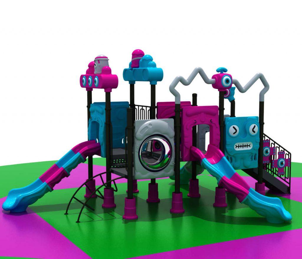 ROBOT Castello 7014A - Giochi per Parchi a tema Robot