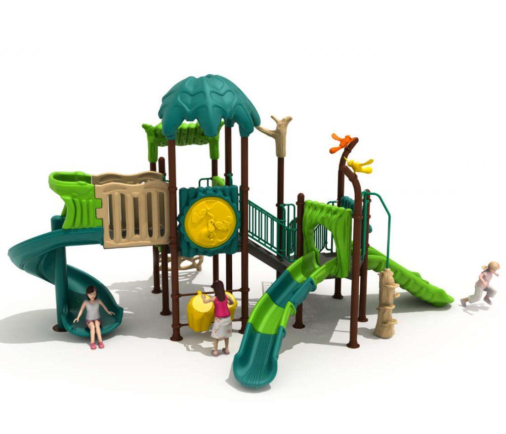 FORESTA Castello 7057A - Giochi per Parchi a tema Avventura