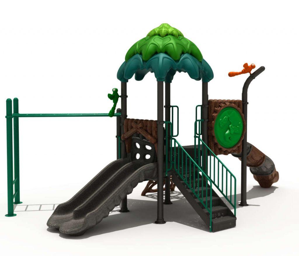 scivolo foresta per bambini