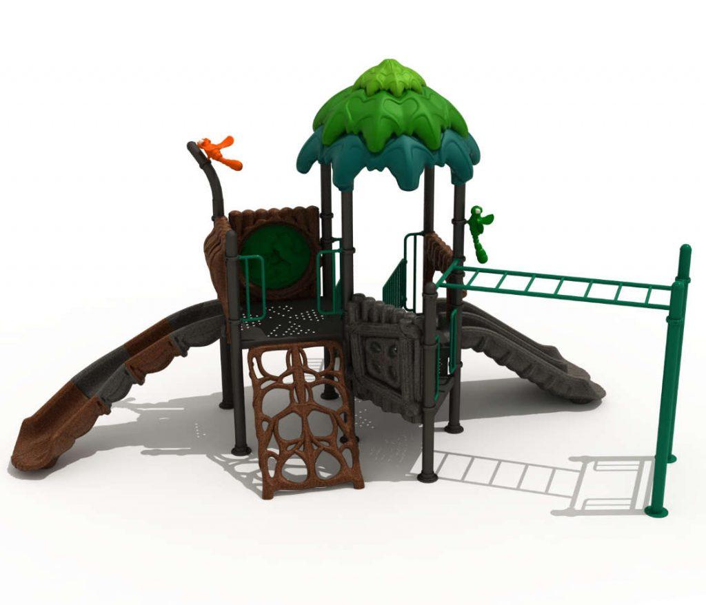 FORESTA Castello 7062A - Giochi per Parchi a tema Avventura