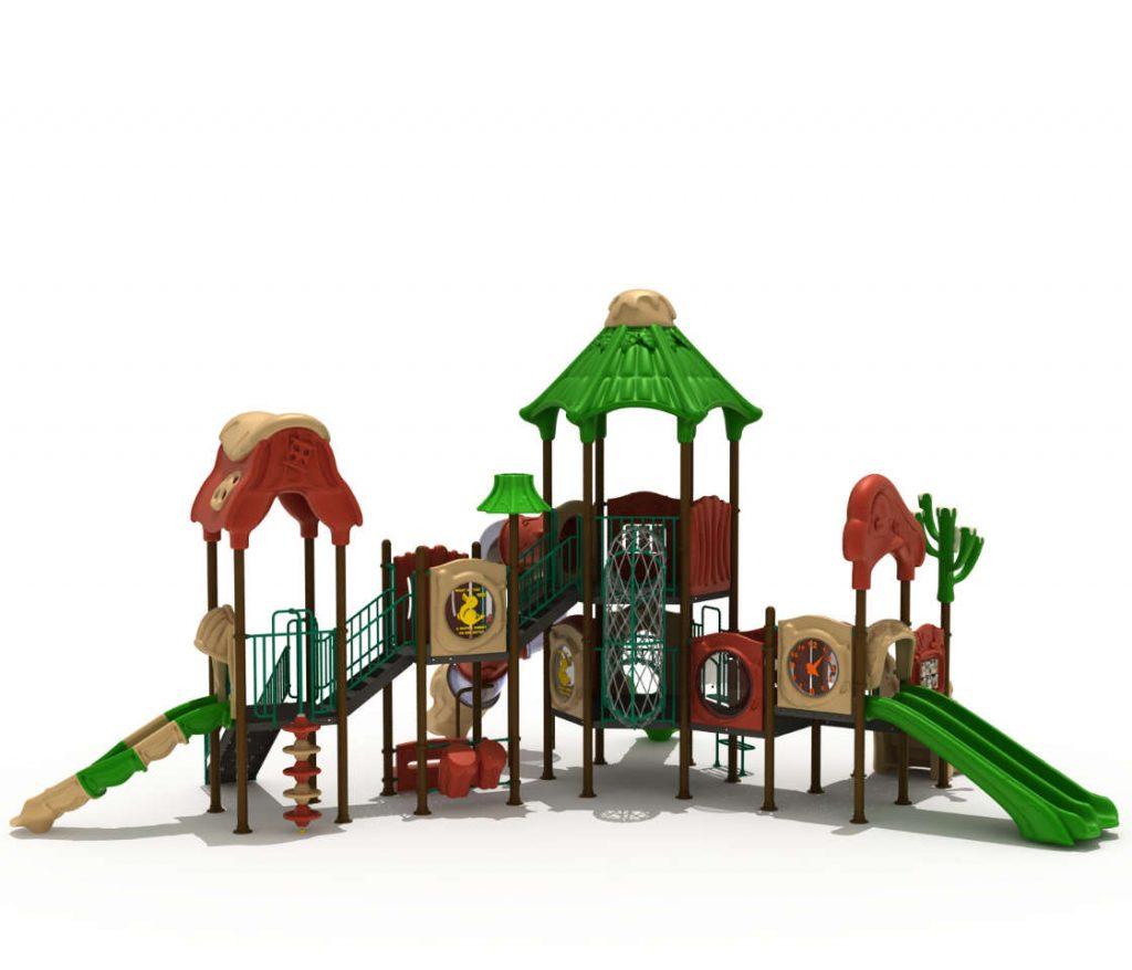 Struttura Gioco per Bambini a tema Natura - NATURE Castello 7069A