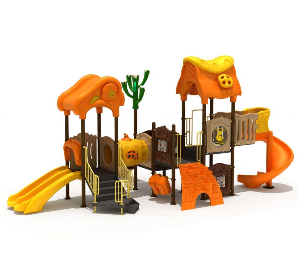 Struttura Gioco per Bambini a tema Natura - NATURE Castello 7074A