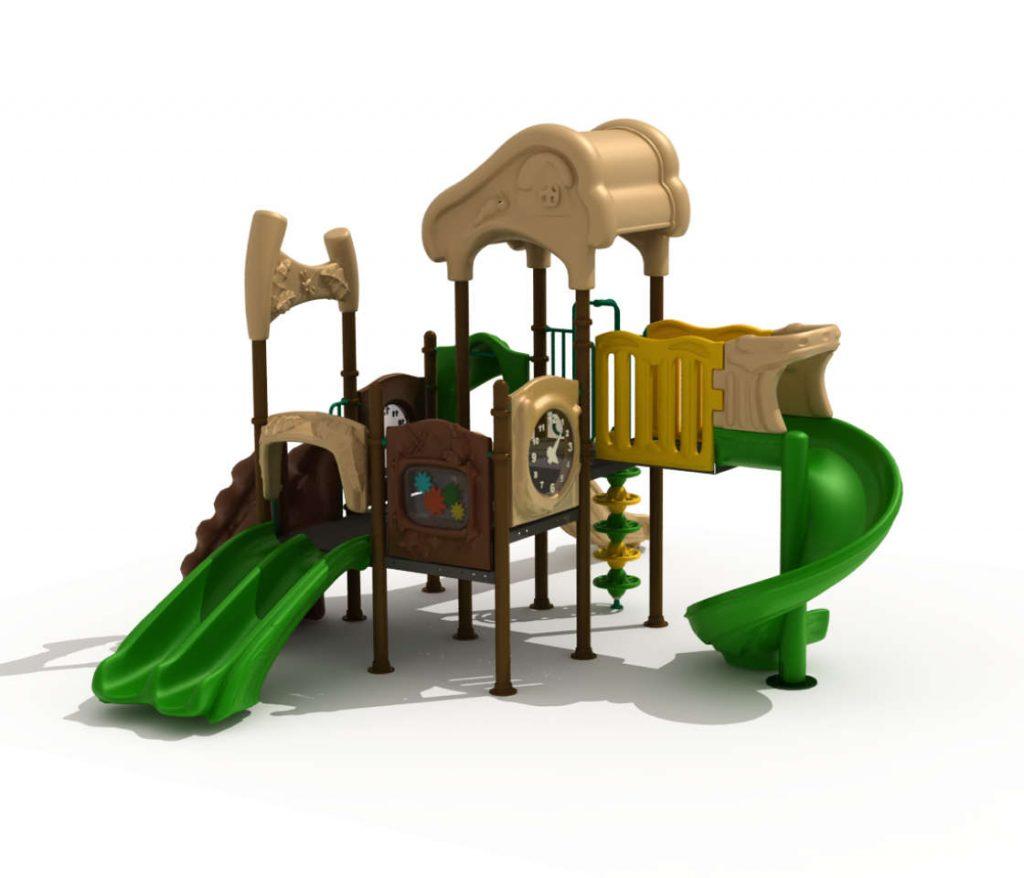 Struttura Gioco per Bambini a tema Natura - NATURE Castello 7076A
