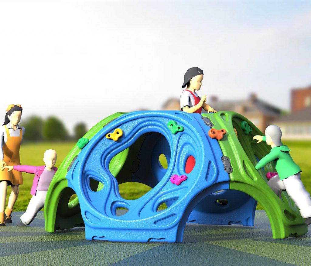 gioco arrampicata per bimbi piccoli