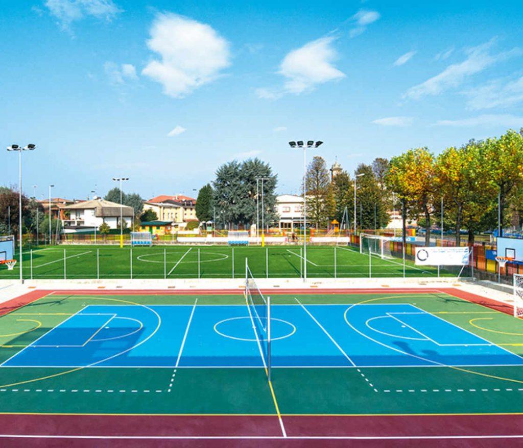 Pavimentazioni Esterne e Sintetiche in Resina per Campi Tennis