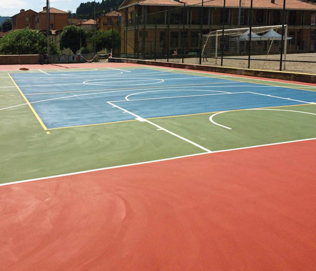 pavimentazione sport in resina