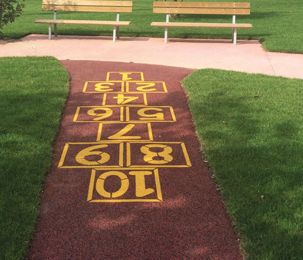 pavimentazione antitrauma bambini