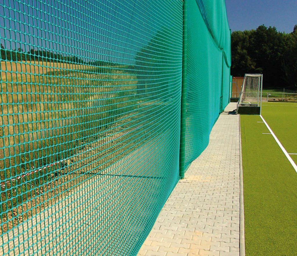 reti di protezione campi da calcio
