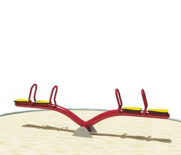 RED WARM Dondolo 1119B - Dondoli a Molla Parco Giochi