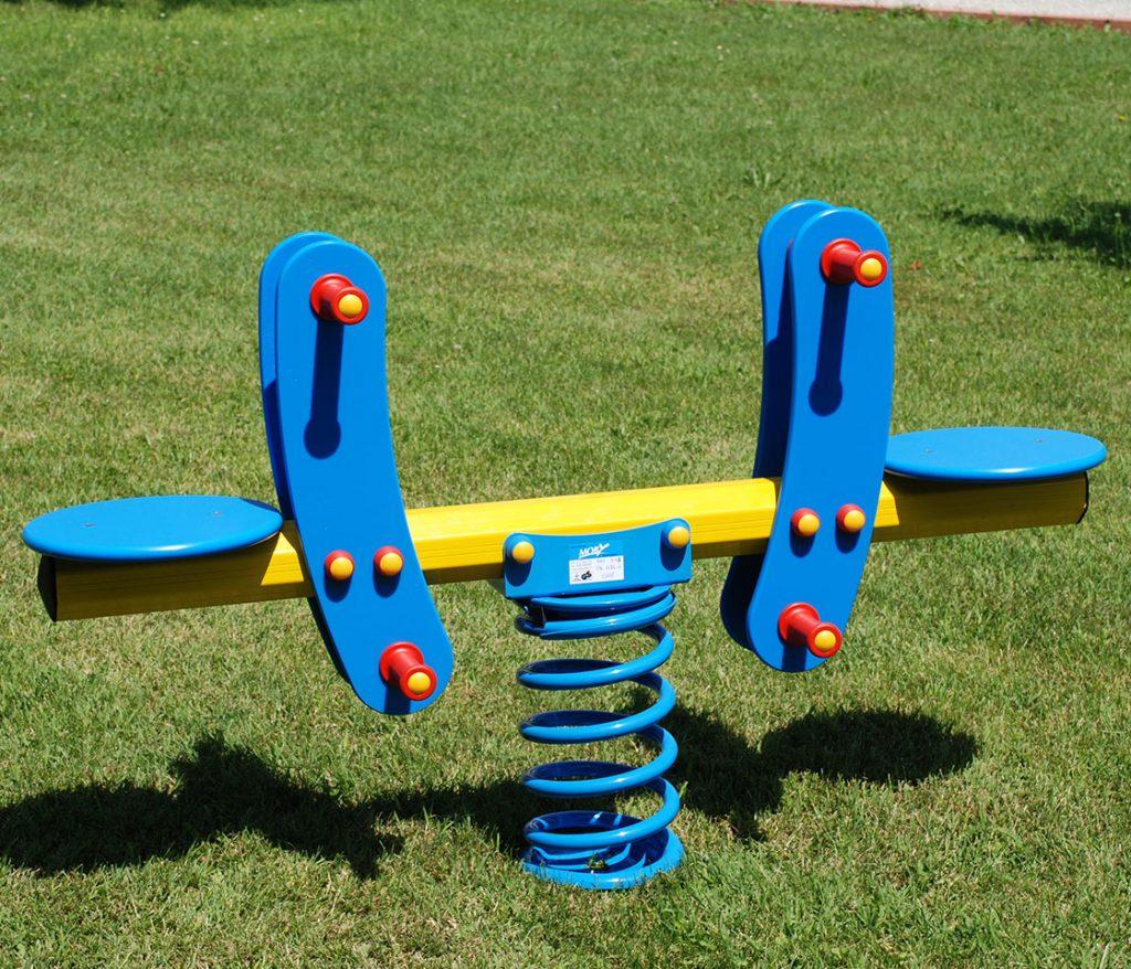 giochi a molla per giardini pubblici