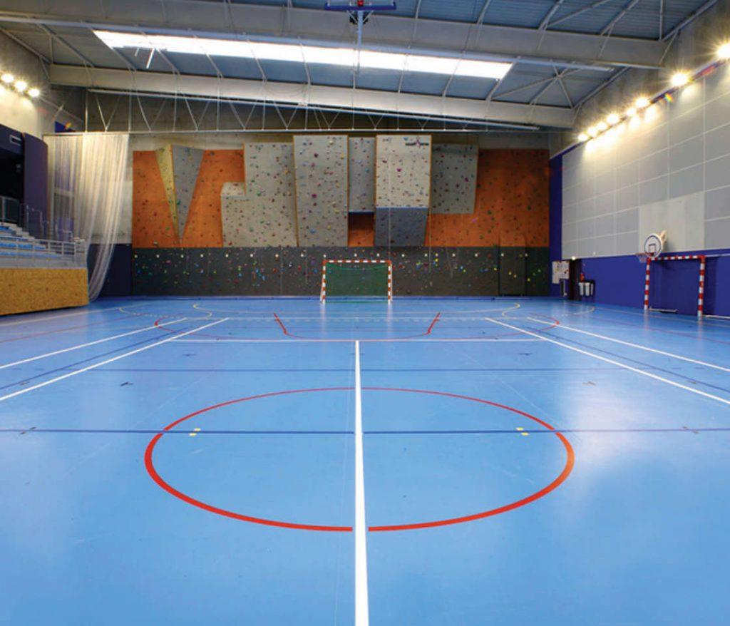 Pavimentazioni Sportive in Gomma e PVC per Palestre
