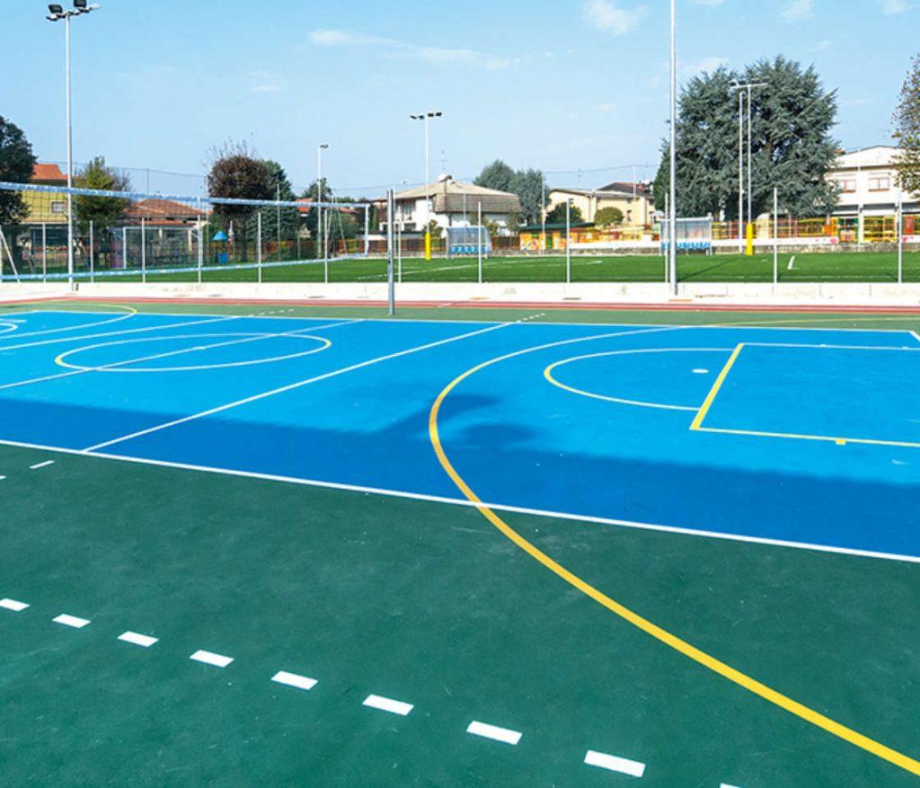 Pavimentazioni Esterne e Sintetiche in Resina Piste di Atletica