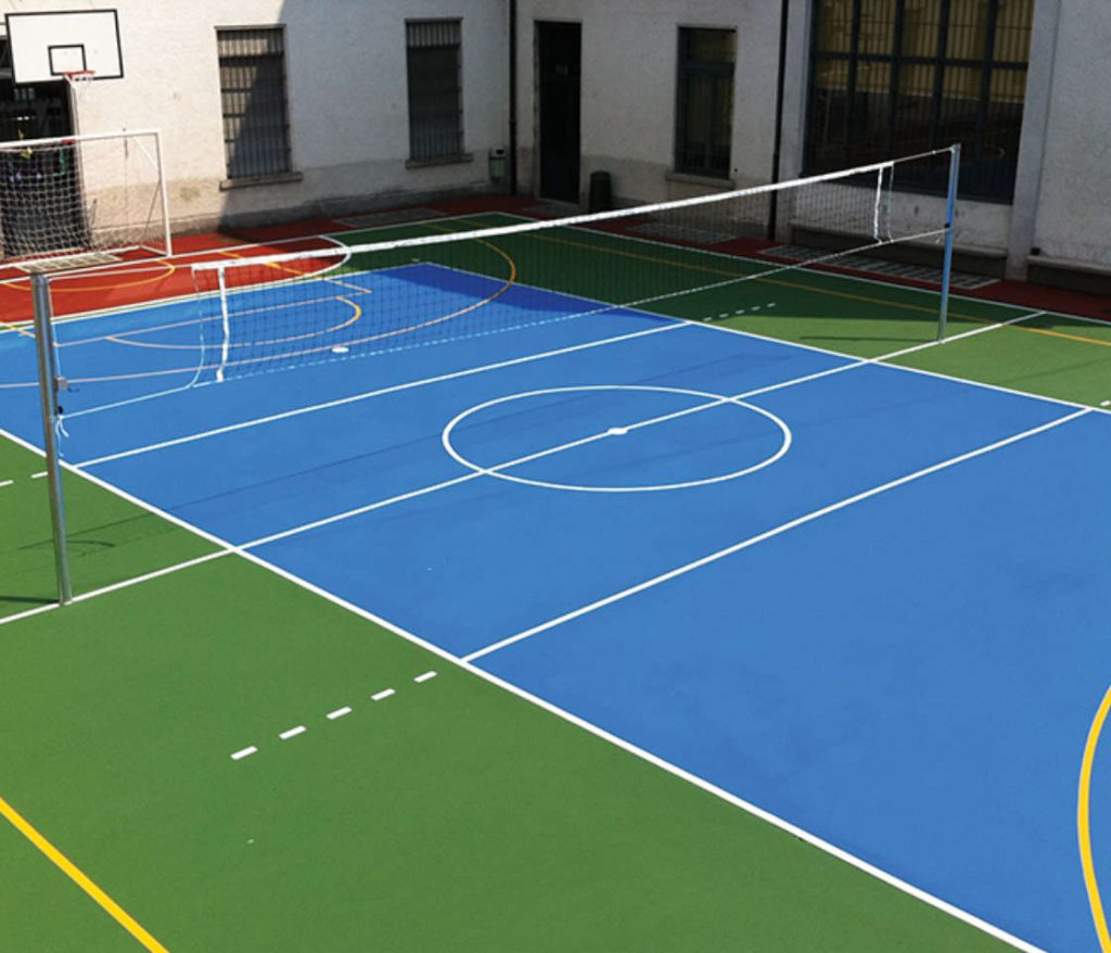 campo pallavolo esterno